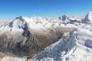 Cumbre del Nevado Pisco