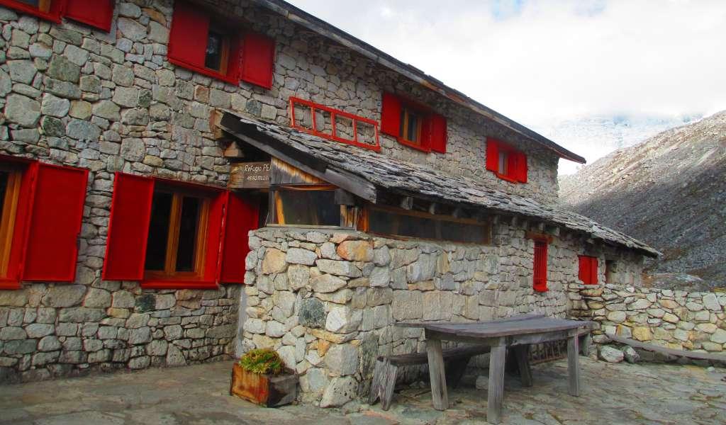 Refugio Perú, nevado Pisco