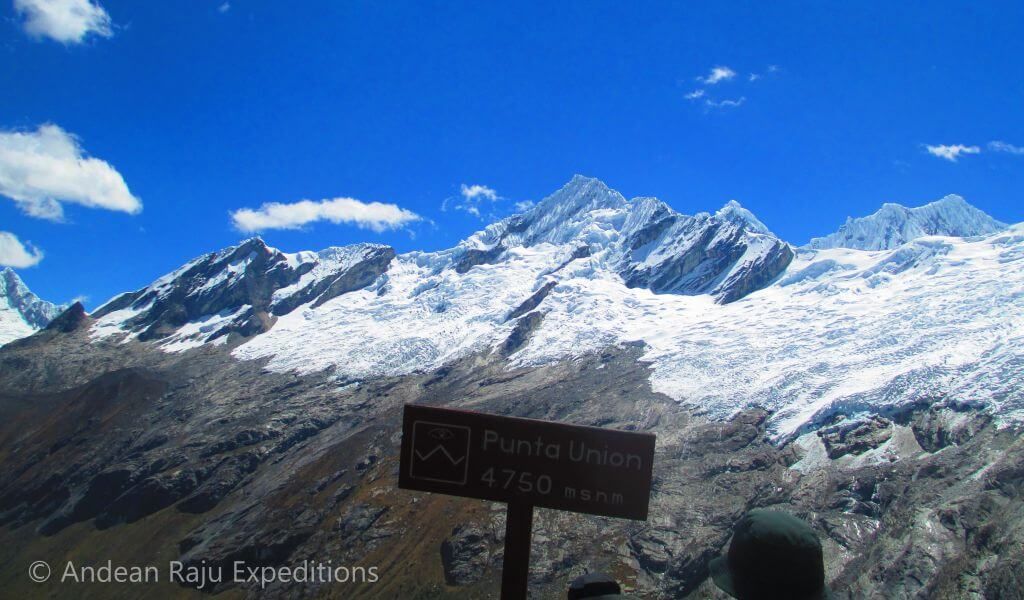 Paso Punta Unión (4.750m)