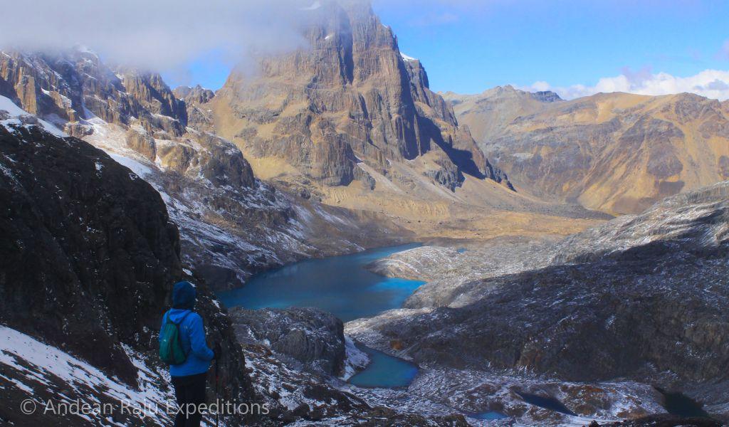 Vista del Nevado Puscanturpa, Paso Trapecio
