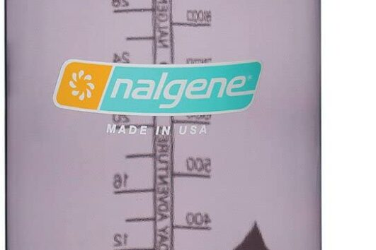 Botellas Nalgene boca estrecha color berenjena