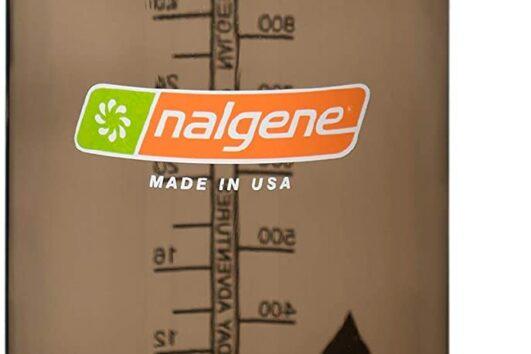 Botellas Nalgene boca estrecha color leñador