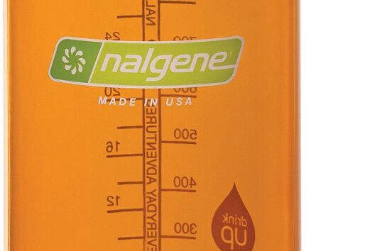 Botellas Nalgene color naranja