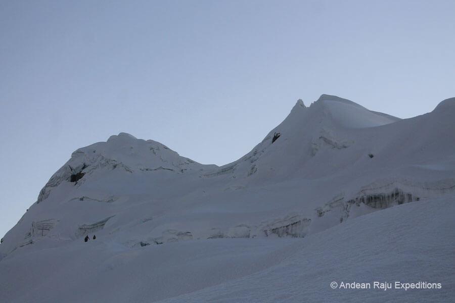 glaciar del vallunaraju