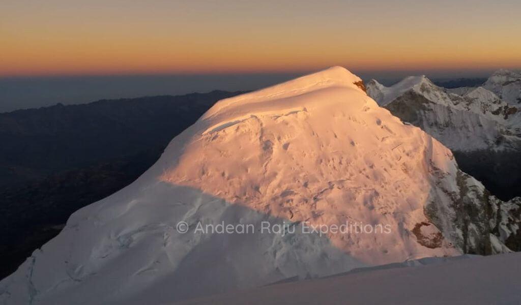 Vista del Huascarán Norte