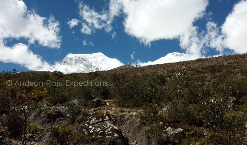 Camino a Campo Base del Huascarán