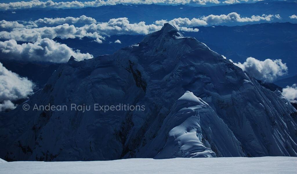 Vista del Nevado Chopicalqui