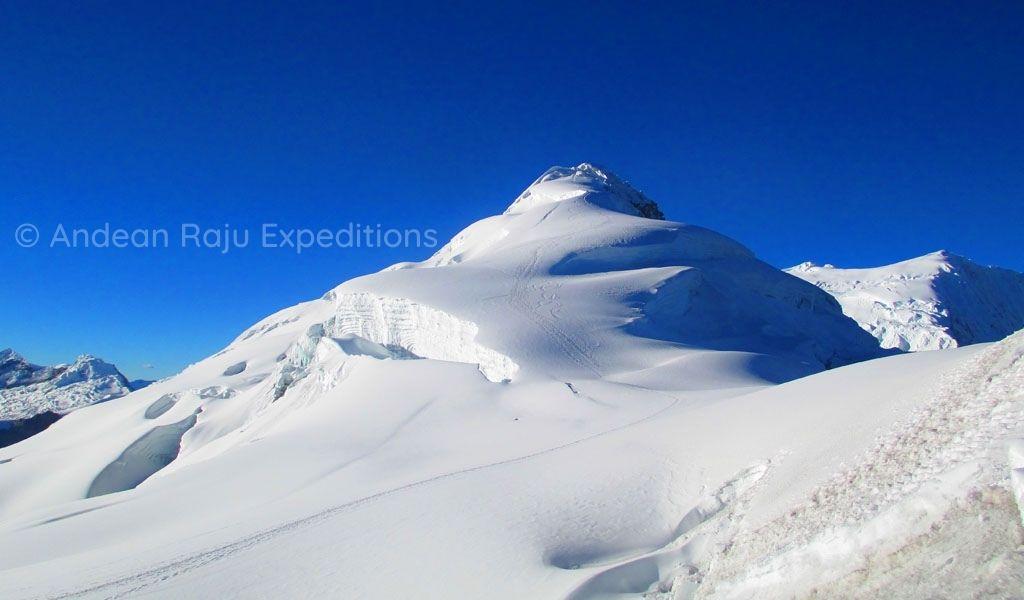 Vista del Nevado Ishinca