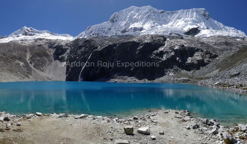 Laguna 69 y el Nevado Chacraraju