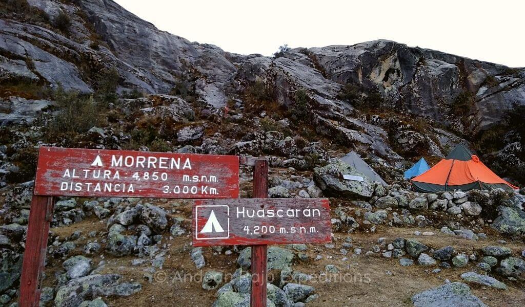 Campo Base del Nevado Huascarán
